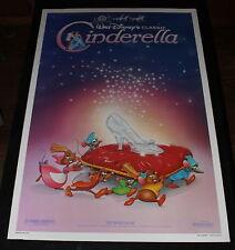 CINDERELLA  MOVIE POSTER ORIGINAL ROLLED ONE SHEET 1987 THE SLIPPER WALT DISNEY