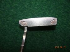 """HENRY GRIFFITTS EDEL DESIGN AOKI FITTING SYSTEM PUTTER RH 35"""" New Grip"""