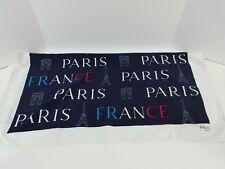 Paris Made in Italy Red White Blue EiffelTower Souvenir Patricia Paris Polyester