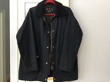 Ladies Black Barbour Breathable And Waterproof Zip Front Pockets Size 12