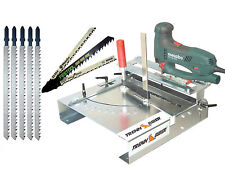 012L+ T-Schaft Bosch Metabo u. 5 Holz Stichsägeblätter extra lang für Stichsägen