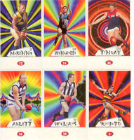 POPULAR-1997 Select AFL Stickers Stand Up Subset Card Full Set (72)--Rare