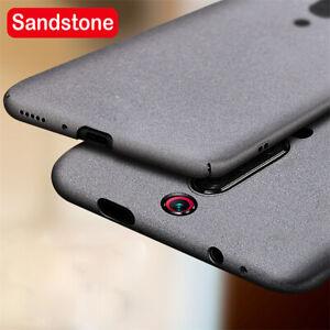 For Xiaomi Mi 9T Pro 9 SE 9 Lite Sandstone Matte Hard Slim Back Case Cover Skin