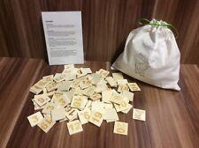 Eselspiel Rentierspiel 121 Steine aus Holz Handarbeit Sonderedition
