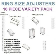 RING SNUGGIES,SNUGS - PACK OF 16 ASSORTED ADJUSTERS - LOOSE RING,WRONG SIZE FIX.