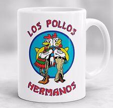Los Pollos Hermanos Mug, Breaking Bad Gift, Heisenberg Inspired Coffee Mug P50