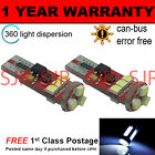 2X W5W T10 501 CAN BUS BLANCO LIBRE DE ERRORES 9 SMD BOMBILLAS LED LUZ LATERAL