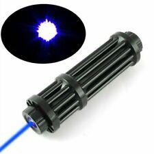 <1Mw 450nm Blue Laser Pointer Pen Militar Camping Burning Beam Light High Power