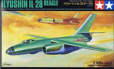 Tamiya 61601 Ilyushin Il28 Beagle 1/100 Plastic Scale Model Kit