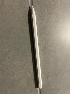 Apple Pencil (2ᵉ Génération) Stylet pour Apple iPad Pro - Blanc (MU8F2AM/A)