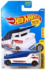 Hot Wheels 2017 Experimotors The Embosser (Ramp Truck) 339/365, White