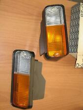 Nos Fiat Seat 131 front indicators turn signal lights set  fanalino anteriore