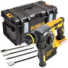 Dewalt DCH273 18V XR SDS Plus Hammer Drill With DS300 Kitbox & 4 pcs Chisel Set