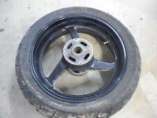 honda cbr600rr rear back black rim wheel tire 03 04 2003 2004 cbr 600rr cbr600