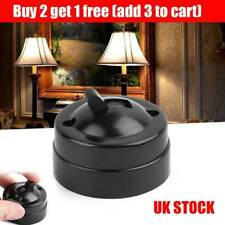 Decor Round Single Control Retro Light Switch Old Fashioned Wall Mount Black