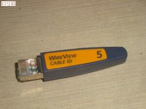 Fluke Networks Netscout WireMapper WireView # 5 Cable ID P/N 2128409