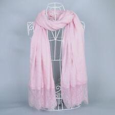 MAXI Cotton Viscose Lace Scarf Hijab Shawl 175 X 100 cm