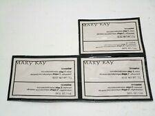 Mary Kay Sample Lot 3 pc Microdermabrasion Step 1 and 2 New
