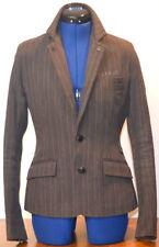 G-STAR RAW Women's Blazer GS WMN Lined Striped 100% Cotton (Brown) Small