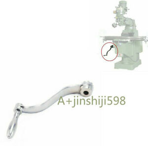 1x CNC Milling Machine Part Elevating Knee Crank Handle For Bridgeport Parts