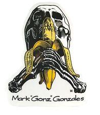 "BLIND / HERITAGE ""Skull & Banana"" Skateboard Sticker 12cm GONZ Gonzalez Camper"