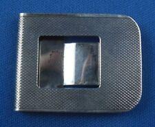 Geldclip Geldscheinhalter edel gearbeitet 925er Sterling Silber