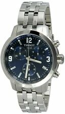 Tissot PRC 200 Blue Dial Stainless Steel Men's Watch T0554171104700