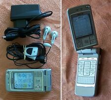 Nokia 6260 Flip mobile phone TOP CONDITION (swivel w550 V70 V80 f100 aura n90 n)