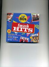 SMASH HITS THE 80S - HUMAN LEAGUE KATE BUSH A-HA ABC STRANGLERS - 3 CDS - NEW!!