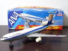 1970s Lockheed L-1011 TriStar ANA Jet Airplane NOMURA TOY Vintage Tin Toy