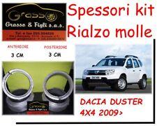 Spessori Rialzo Molle SPACER SPRING DACIA DUSTER 4X4 kit completo 3 CM