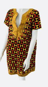 Premium Ankara / Africa print / Kitenge mini dress with embroidery