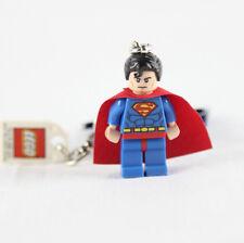 LEGO DC Universe 853430 NEW Super Heroes Superman Minifigure Keychain