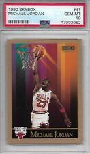 1990 Skybox #41 Michael Jordan Chicago Bulls HOF PSA GEM MINT 10