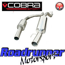 "VX20 Cobra Sport Corsa D SRI Exhaust System 2.5"" Stainless Cat Back Res (10-14)"