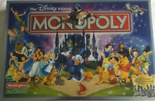 Disney Edition Monopoly Waddingtons Board Game Excellent Condition