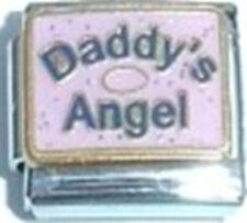 9mm Classic Size Italian Charm  E128 Little Lil Angel