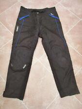 "Targa - Mens Black Canvas Motor Cycle Trousers - 39-41"" Waist 32"" Leg"