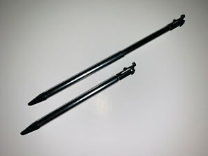 2x New Nintendo 3DS Touch Screen Retractable Metal Stylus