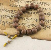 Antico Braccialetto Mala Tibetano Phoenix Eye Semi Bodhi Albero Da Budda 25628