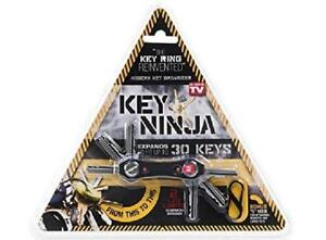 Key Ninja - Organize Up To 30 Keys, Dual Led Lights, Built In Bottle Opener (Now