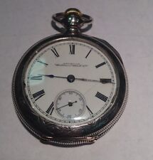 Antique American Waltham Watch Co. Pocketwatch in 18 Size Silveroid Case!