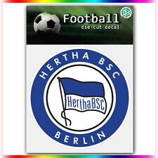 "Hertha BSC Berlin UEFA Die Cut Vinyl Sticker Car Bumper Window 4""x4"""