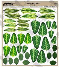 Diorama Accessory - 1/35 Jungle Foliage #2