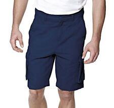 "Mens 'Twisted Gorilla' Cargo Shorts Pants Navy Blue 100% Cotton W34"" BNWT"