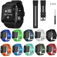 Replacement Silicone Soft Wristband Strap Band Bracelet for Garmin Forerunner 35