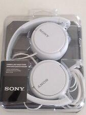 Sony MDR-ZX110 ZX Series Headphones White MDRZX110/W - New Open Box