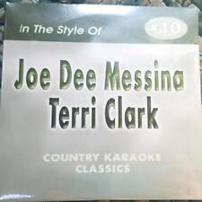 JOE DEE MESSINA/TERRI CLARK CDG KARAOKE COUNTRY CLASSICS CKC #10 CD+G NEW