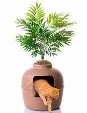 Hidden Cat Litter Box Durable Polypropylene Filtered Vented System for Large Cat