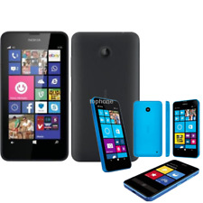 "Unlocked Nokia Lumia 635 Windows 4.5"" Quad Core 8GB ROM 5MP 3G LTE Original GPS"